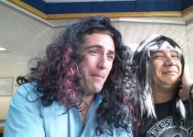 Cosas del amor,  La rana y Hector Flores